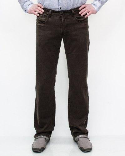 Джинсы мужские FANGSIDA коричневые 4003