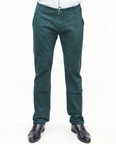 Джинсы мужские RESALSA зеленые 8235-8