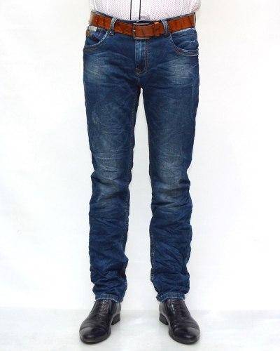 Джинсы мужские RITTER синие с ремнем 6205