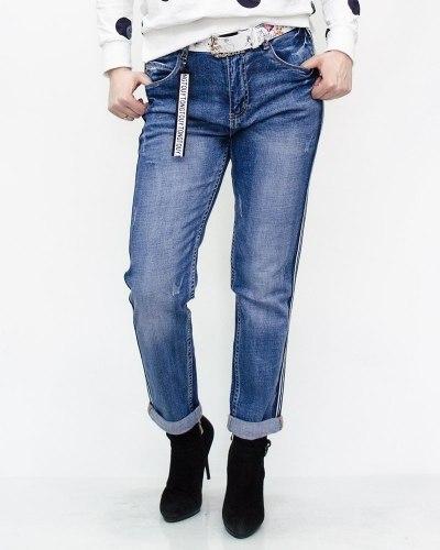 Джинсы женские OK-OK синие 9083