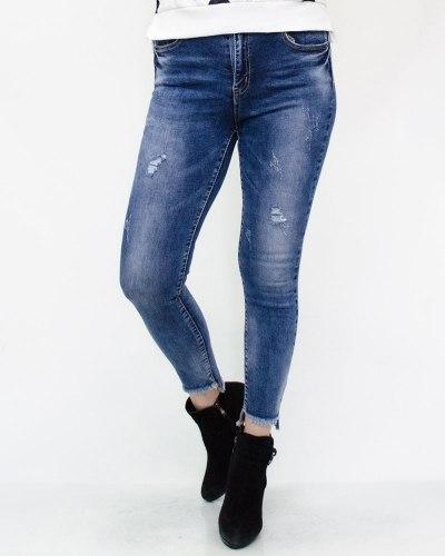 Джинсы женские MS голубые 180