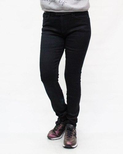 Джинсы женские VANVER черные зимние 81267