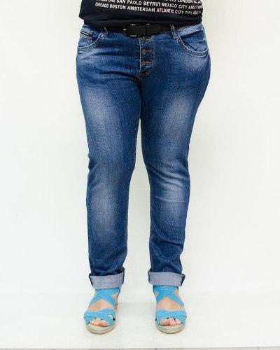 Джинсы женские VANVER голубые 8008