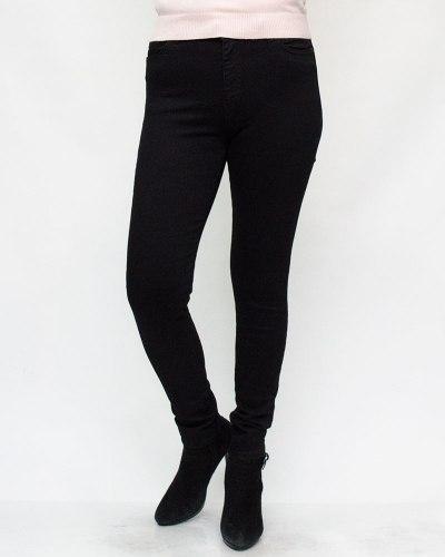 Джинсы женские XRAY черные с молнией 714