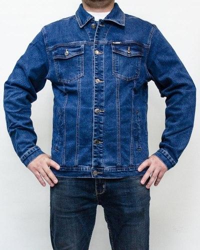 Куртка джинсовая мужская 839 голубая 2002