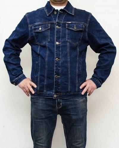 Куртка джинсовая мужская 839 синяя 2003
