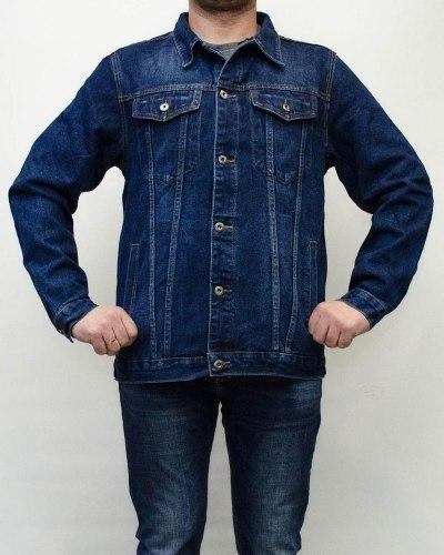 Куртка джинсовая мужская AWIVGOSS синяя 017