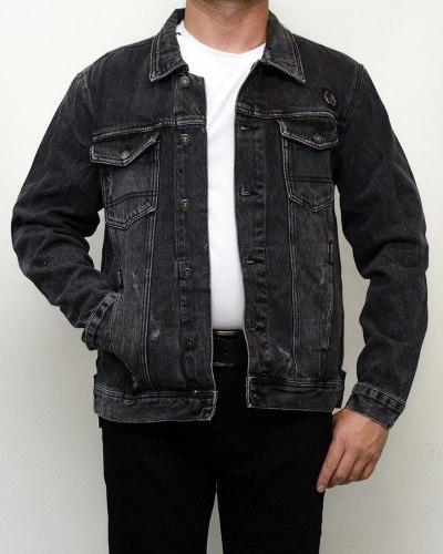 Куртка мужская джинсовая RESALSA серая 9812