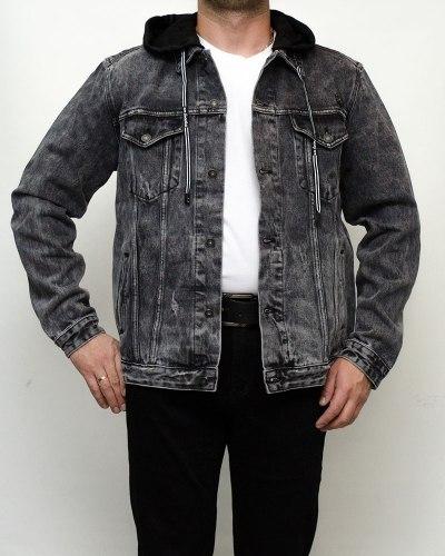 Куртка мужская джинсовая RESALSA серая 9813-1
