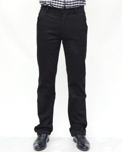Джинсы мужские 839 черные теплые 90750