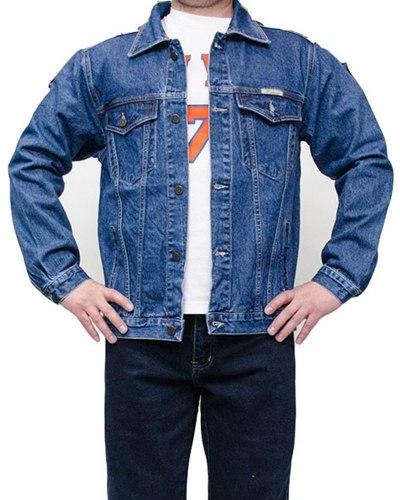 Куртка джинсовая мужская DECANT голубая